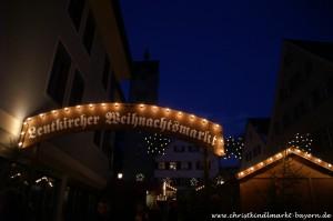 Weihnachtsmarkt in Leutkirch im Allgäu