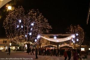 Christkindlmarkt im Garmischer Zentrum