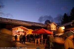 Christkindlmarkt im Freilichtmuseum Glentleiten