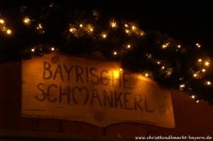 Christkindlmarkt in Oberammergau